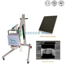 Equipamento de raio-x móvel digital portátil 70mA para hospital médico