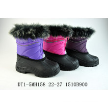 Fur Warming Shell Boots for Winter