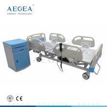 АГ-BM003 больницы дешевые 5-функции электрическая icu медицинские кровати