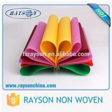 A agulha de rayon de Foshan perfurou telas não tecidas biodegradáveis