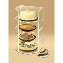 Store Acryl Display für Kuchen, Einzelhandel Acryl Display Regal