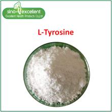 Pó fino de aminoácido L-tirosina
