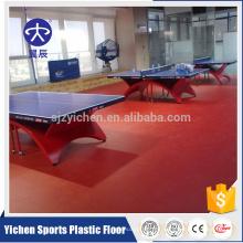 Estera del piso de los deportes del tenis de mesa del precio bajo interior de calidad superior