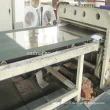 1000 3000 5000 série DC CC route usine finition feuille / bobine / plaque en aluminium