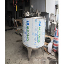 100L 200L 300L Stainless Steel Small Milk Batch Pasteurizer Machine Prices