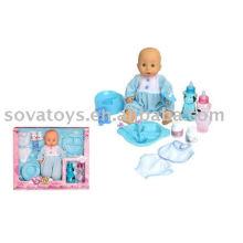 906031550 boneca menino, boneca engraçada, 12 polegadas boneca real para o bebê