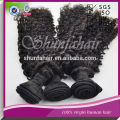 import curly hair extension for black women 100% virgin hair extension