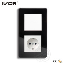 Ivor Glass Frame Wall Switch and Socket