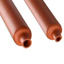 Волоконно-Оптический Кабель Защиты Рукав Красный Силиконовая Резина Термоусадочная Труб