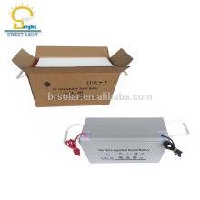 120AH 150AH 200AH precio especial antirrobo tornillo caja de batería solar de plomo ácido de gel resistente al agua