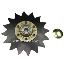 "G6000 8 ""Disc Covered Notched untuk John Deere"