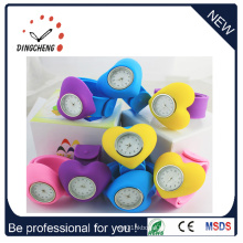 Cheap Wholesale Promotional Silicone Slap Watch (DC-090)