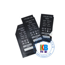 Satin fabric blank clothing labels for garment