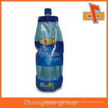 Fabricación de envases de plástico ziplock bolsa de bebida reutilizable con boquilla para la bebida
