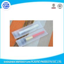 Guangdong Fábrica EVA Frosted Maquillaje De Plástico Cepillos Bolsas De Embalaje