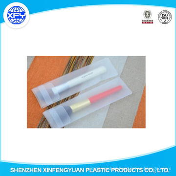 Guangdong Factory EVA Frosted Plastic Makeup Brushes Packaging Bags