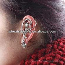 Серьги EC09 для уха уха уха женщины уникально Rhinestone Ear0stone