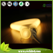 Tubo de neón LED suave con riel de aluminio / PVC regular