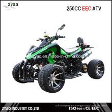 250cc CEE Racing Quad / EEC ATV con rueda de 12 pulgadas