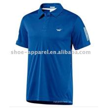 logotipo de la impresión de la moda Camiseta del polo del tenis