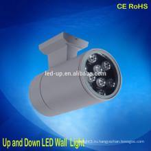 Мини светодиодный настенный светильник наружный вверх и вниз светодиодный IP65 водонепроницаемый наружный настенный светильник led