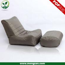 Chaise haute canapé-lit à dos haut-parleur, sac à bagages TV / Gaming inclinable