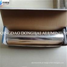 Folha de alumínio pequeno rolo com salver