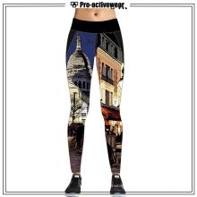 Gril Elegante Dri Fit Sports Wear pantalones de yoga de longitud completa