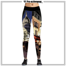Gril Stylish Dri Fit Sports Wear Full Length Yoga Pants