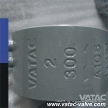 API594 Válvula de retención de chapa doble A105 de acero forjado