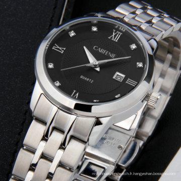 2017 Casual Mode Marque 316L INOX Unisexe Montres Horloge Couple Montres