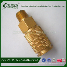 High quality Brass nickel-plated Longlasting japanese coupler