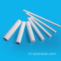 Diameter 120mm Diameter Extruded Hard PTFE Hollow Bar