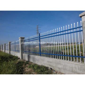 Cerca de jardim de aço galvanizado / cerca de guarnição barata