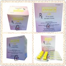 Antibacterial Nitrofurantoin Capsules