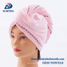 Larga vida lijado toalla de abrigo para el cabello