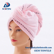 Long life sanding hair wrap towel