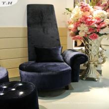 Tissu velours italien brillant pour canapé