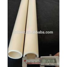 99.7%Al2O3 Ceramic Round Single Bore Alumina protection Tubes
