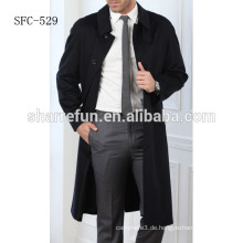 2017 luxus mode mantel wollene warme männer mantel