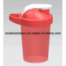 Matte Farbe 500ml Protein Shaker mit Ss Mixer