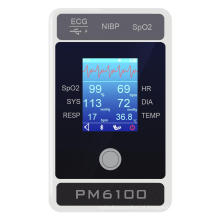6 Parameter Palm Patient Monitor