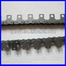 Short Pitch roller chain with attachments A1