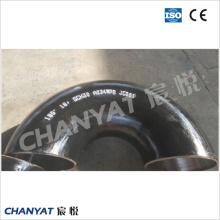 Coude de tuyau d'acier au carbone d'En / DIN (1.0482, 19Mn5, 1.0457, STE240.7)