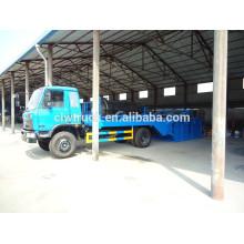 8CBM Camión de basura contenedor con chasis Dongfeng