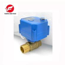 110V 230V AC85-265V laiton ss304 DN20 DN15 CWX-25S vanne de contrôle de débit d'eau électrique