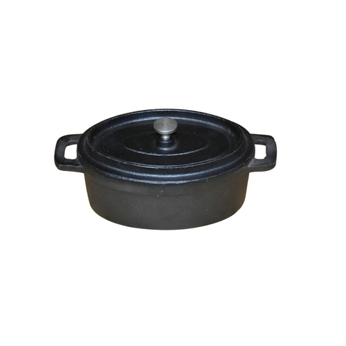 Pre-seasoned Cast Iron Mini Casserole Dish