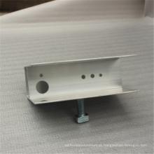 Peças de automóvel de alumínio CNC usinado fabricado