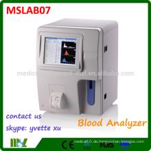 MSLAB07 Bester Verkauf Elektrischer Krankenhaus-Ausrüstung Voller automatischer Hämatologie-Analysator