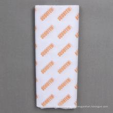 Papier de soie 17GSM de papier de soie d'emballage imprimé adapté aux besoins du client